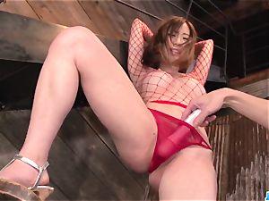 obedient Momoka Sakai banged and made to swallow