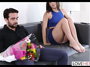 super-hot foot fuck-a-thon With My Sisters cuckold bf
