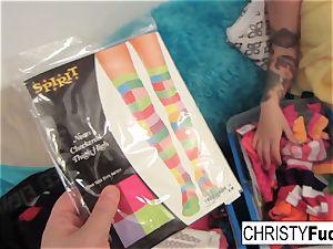 Nick Manning tears up inked pornstar Christy