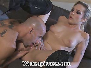 Rampant role have fun for Bailey Blue and a super-fucking-hot man