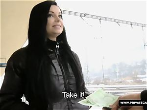 Victoria Blaze Takes a massive facial cumshot