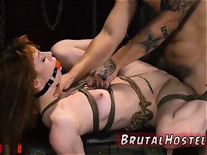 brutish booty romping and throat urinate desperation restrain bondage marvelous young gals, Alexa Nova and