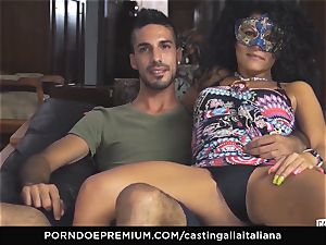 casting ALLA ITALIANA unexperienced sploogs in anal plow