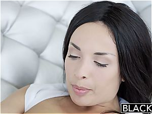 BLACKED French Anissa Kate molten multiracial buttfuck fuckfest