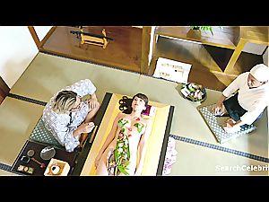 Yui Hatano and Teresa Daley in public looking torrid