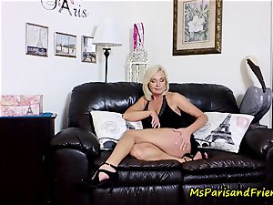 spunk on Mommy's fun bags with Ms Paris Rose