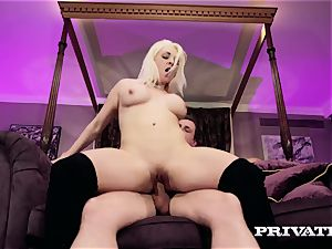 Private.com - huge-titted Victoria Summers inhales and pulverizes