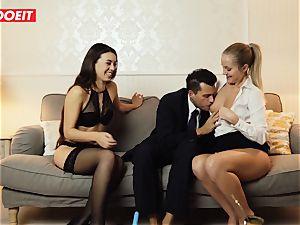 LETSDOEIT - ultra-kinky wifey Gets boned gonzo By Swingers