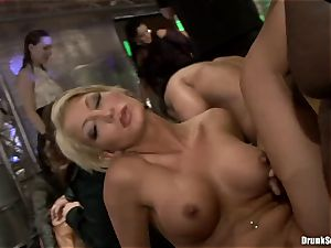 Bibi Fox with bombshell friends packed with scorching cum