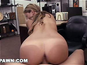 xxx PAWN - Waitress Desperate For Cash Sells Her booty