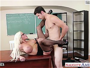 outstanding Nikita Von James banged properly