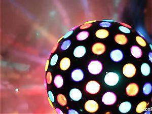 stellar yam-sized titted disco ball stunner