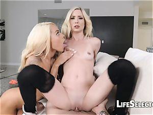 smallish Blondes get romped rock-hard - Piper Perri, Elsa Jean