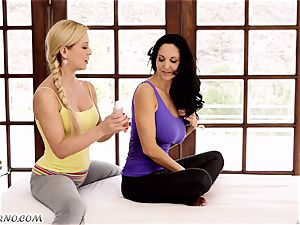 Ava Addams and Cherie Deville - big tit mummy girl/girl