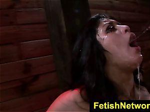 FetishNetwork Mia Li gasps large manmeat
