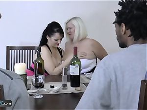 AgedLovE well-known buxomy Matures hardcore Groupsex