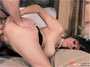 Julia Ann gets her slit penetrated by John powerful