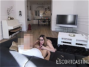 youthfull call girl doll Ally gets jizz in her facehole on hidden camera