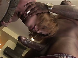 ginger-haired With Braces big black cock anal invasion