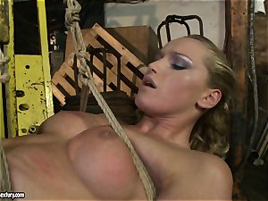 Kathia Nobili and Mandy Bright body cording with cord