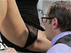 whorish chinese assistant gets ravaged in the office